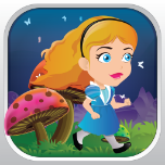 Alice Lost In Wonderland App Icon