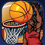 Basketball - 3 Point Hoops App Icon