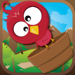 Birdy Fall By Mokool Inc Icon