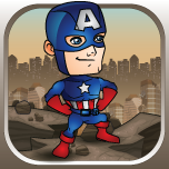 Captain America - America's Hero By Mokool Inc Icon