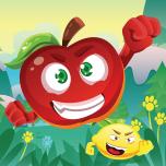 Freaky Fruits Attacks By Mokool Inc Icon