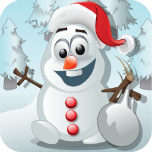 Frozen Snowman Knockdown App Icon