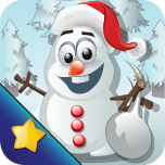 Frozen Snowman Knockdown Pro App Icon