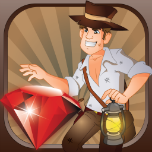 Jewel Raider! By Mokool Inc Icon