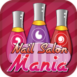Nail Salon Mania App Icon
