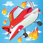 Planes on Fire - Rescue Mission App Icon