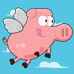 When Pigs Can Fly App Icon