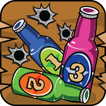 Wild West Bottle Shootout App Icon