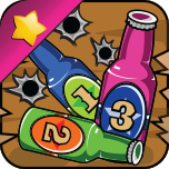 Wild West Bottle Shootout Pro App Icon