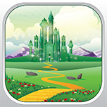 Meet the Wizard of Oz - Down the Yellow Brick Road Pro By Mokool Inc Icon