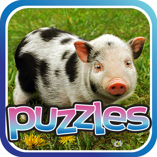 Baby Animals Puzzles Game Icon