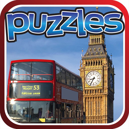 London & England Puzzles Game Icon