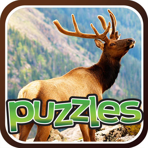 Forest Animal Puzzles Game Icon