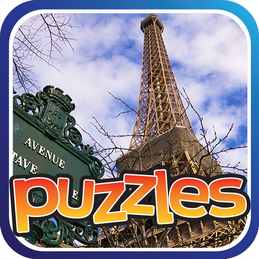 Paris & France Puzzles Game Icon