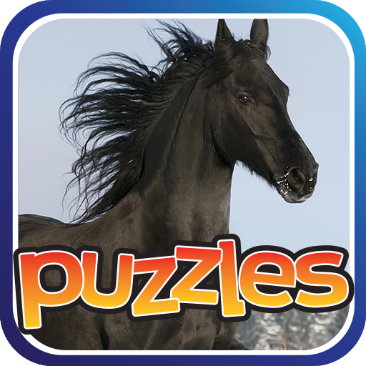 Horse Puzzles Game Icon