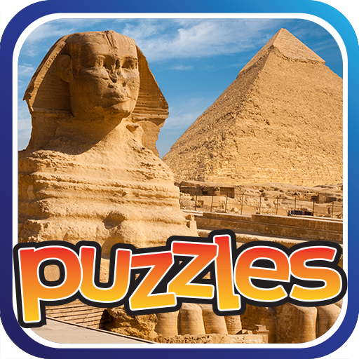 Famous Landmarks Puzzles Game Icon
