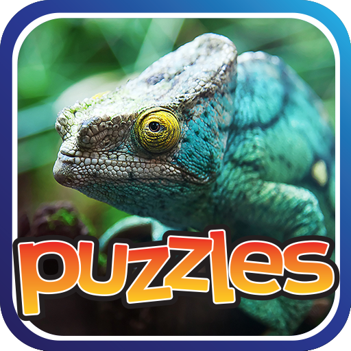 Lizards & Reptiles Puzzles Game Icon