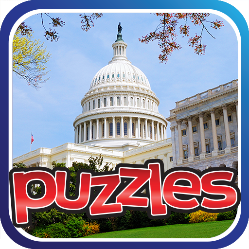 US Cities & Sites Puzzles Game Icon