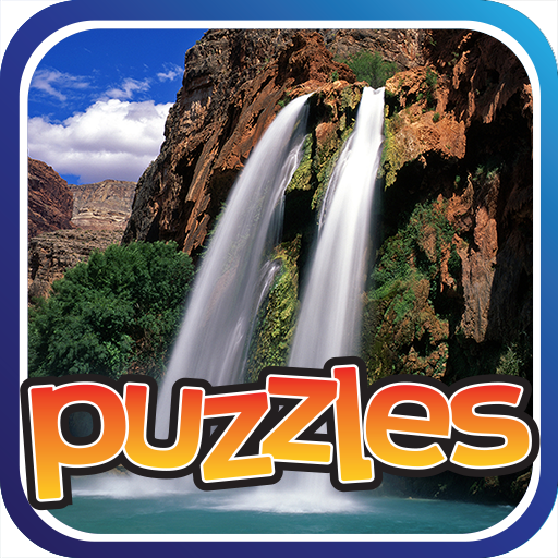 Waterfalls Puzzles Game Icon