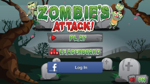 Zombies Attack  on iPhone/iPad/iPod Touch