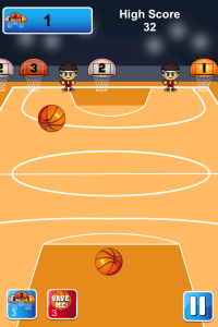 Basketball - 3 Point Hoops on iPhone/iPad/iPod Touch