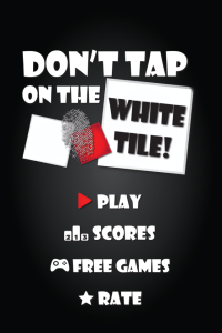 Don't Tap On The White Tile on iPhone/iPad/iPod Touch